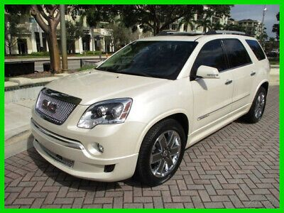 Ebay Advertisement 2011 Gmc Acadia Denali Awd Hard Loaded No Reserve 2011 Gmc Arcadia Denali Awd Dvd Navi Heat Cool Seats Heads Up With Images 2011 Gmc Acadia