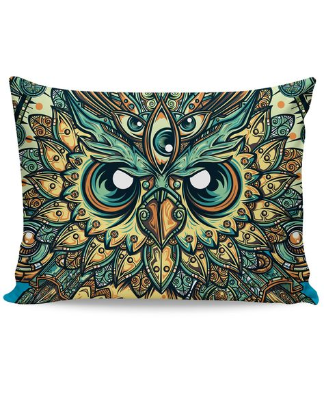 God Owl of Dreams Pillow Case