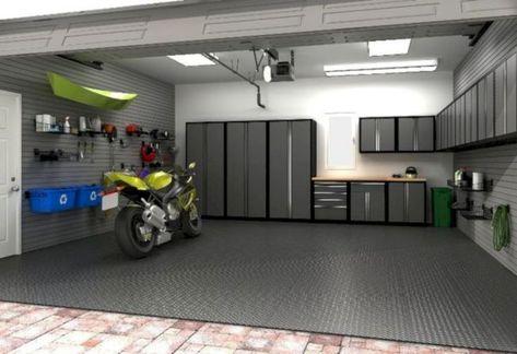 Car Garage Interior Design Ideas