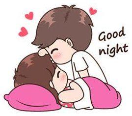 Sleep Tight My Love Couple Good Night Sweetheart My Sweet Sweet Ladoo Sleep Tight My Love And Have Cute Love Cartoons Cute Love Stories Cartoons Love