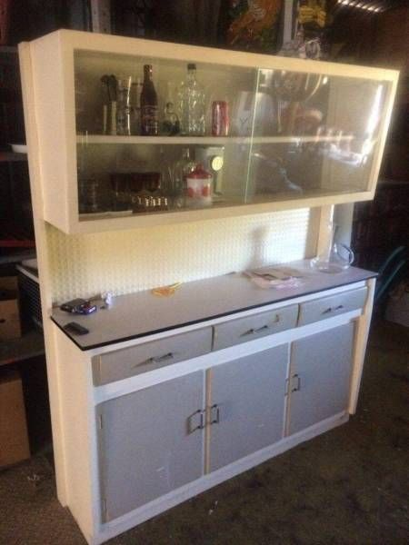 Retro 50 60 S Kitchen Cabinet Cabinets Gumtree Australia Port