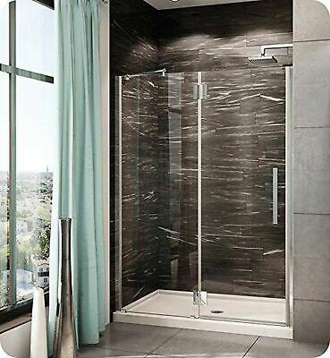 Advertisement Pxlp38 11 40l Qc 79 Fleurco Platinum In Line Door And Panel With Glass To Gla In 2020 Shower Doors Glass Shower Doors Stylish Bathroom