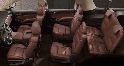 2016 Chevrolet Suburban Inside