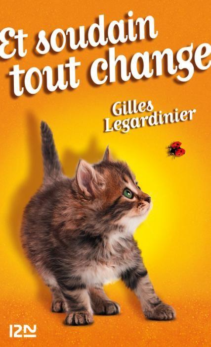 """#CybookLecture de @MissHulk2991 """"Et soudain tout change"""" Gilles Legardinier #VendrediLecture"""