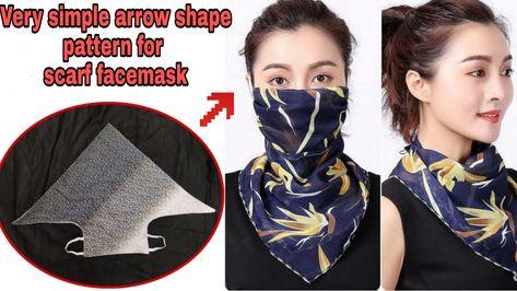 Easy Face Masks, Diy Face Mask, Arte Shabby Chic, Finger Knitting, Hand Knitting, Knitting Machine, Hand Crochet, Serger Sewing, Make Do And Mend