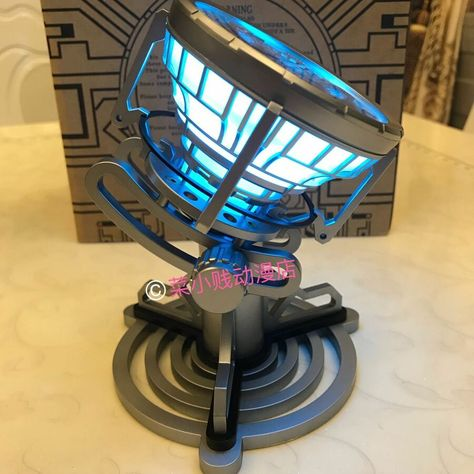 Iron Man Arc Reactor LED Light Figure Legend 1:1 Scale Model Tony Stark MK6