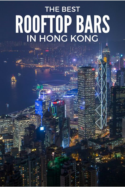 Hong Kong Rooftop Bars: 5 Amazing Views Not To Be Missed