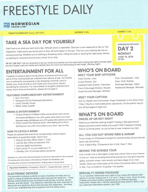 1b794d9250 NCL Getaway Day 2 Freestyle Daily 7-night Western Caribbean Cruise ...