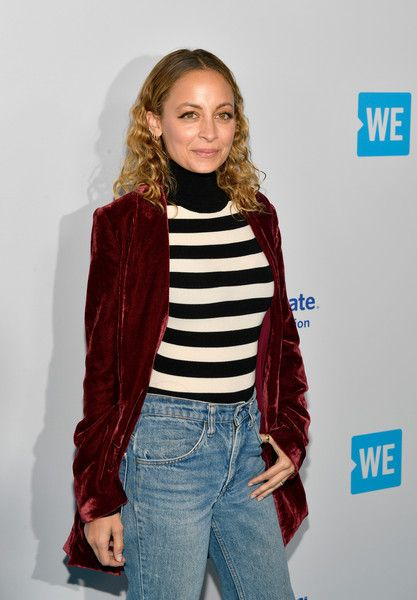 Nicole Richie attends WE Day California at The Forum.