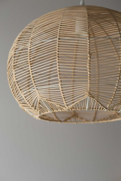 PRE ORDER NOW FOR EARLY JANUARY DELIVERY Milly and Eugene's Round Rattan Pendants are a new take on our ever popular Lace Rattan Pendant. The delicate rattan is