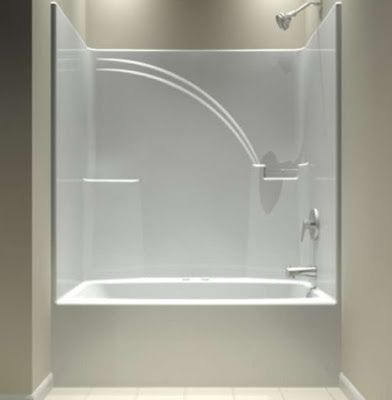 One Piece Bathtub Units Design Shower Remodel Bathtub Shower