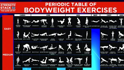 84 Styles To Work Out Without Any Equipments