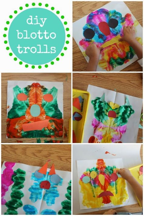 I can see them have fun with this idea to paint and decorate their art with some of our scrap paper.