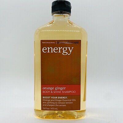 Bath Body Works Aromatherapy Energy Orange Ginger Body Shine Shampoo 16 Oz Ebay Bath And Body Works Bath And Body Shampoo