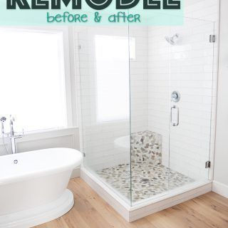 Master Bathroom Remodel Before And After Pictures Bathroom Remodel Makeover Masterbathroom Renov In 2020 Bathroom Remodel Master Bathrooms Remodel Bathroom Style
