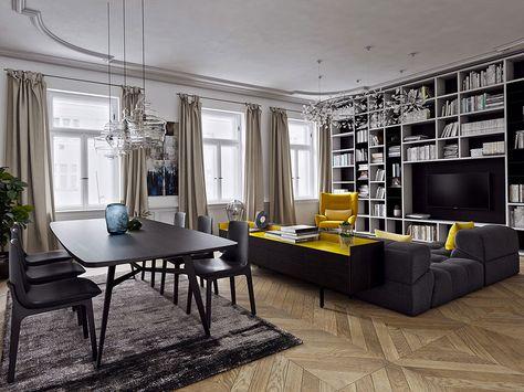 Arredare Con Il Giallo 25 Idee Di Design Per Living Moderni E Dinamici Design Per Il Soggiorno Arredamento E Interni Casa