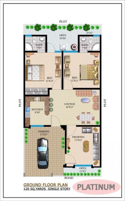Pin On Single Storey House Plans