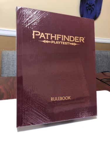 Other Role Playing Games 1183: Pathfinder Playtest 2Nd