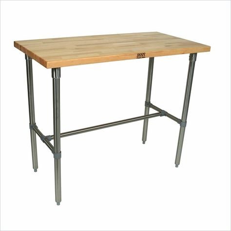 counter height stainless steel prep tables | Stainless Steel Work ...