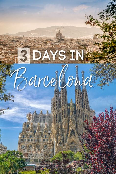 Barcelona has everything you could desire in a world-class city. Based on my many visits, I've put together this comprehensive guide for spending a long weekend in Barcelona! It includes the best things to do and see in Barcelona, Spain, as well as some of my favorite secret local spots! I've given this packed itinerary to family members and friends, and I promise it's doable!