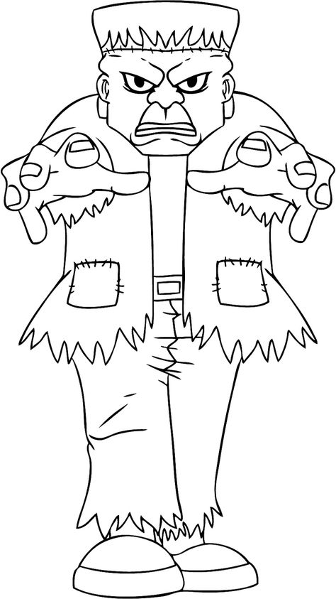 Kids Halloween Coloring Coloring Pages Pinterest Halloween