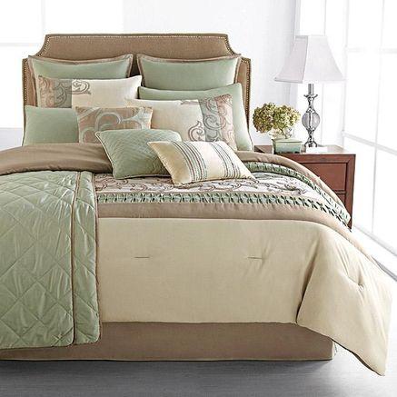 Riverbrook Home Metropolitan 12 Piece Comforter Set Sears Sears Canada Sears Bedding Comforter Sets