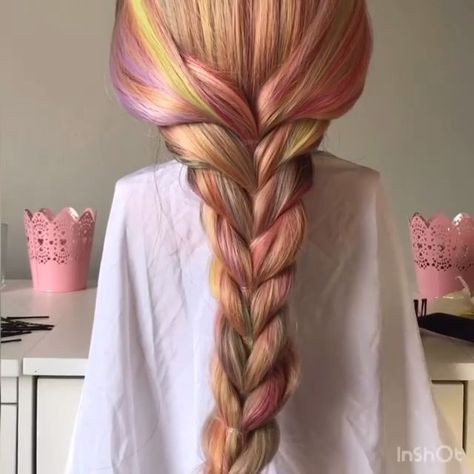 Mermaid Braid Tutorial! - #braid #mermaid #tutorial - #HairstyleLazyGirl