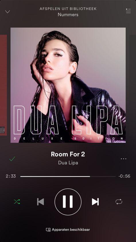 Dua Lipa Room For 2 Afspeellijst Ipa Itunes