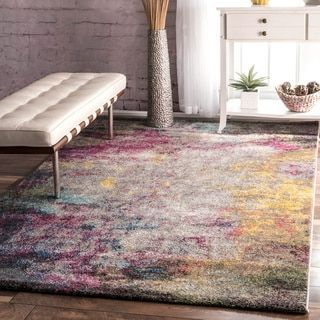 Nuloom Multi Contemporary Abstract Area Rug Area Rugs Area Rugs