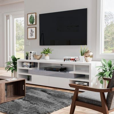 Our Best Living Room Furniture Deals In 2020 Tv Stand Decor Living Room Modern Tv Stand Living Rooms Living Room Entertainment Center
