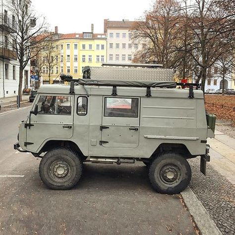 Pinzgauers and other quality REAL 4x4's from Vince Sweeney