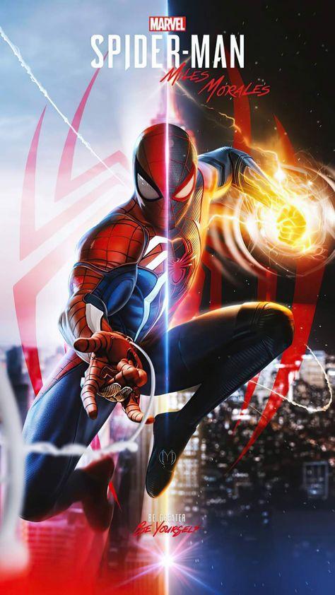 Spiderman Miles Morales Fanart - iPhone Wallpapers