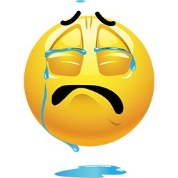 This high-quality Crying A River emoticon will look stunning when you use it in your Facebook comment or chat messenger. Use this emoticon in your email or forum will make your message stand out.