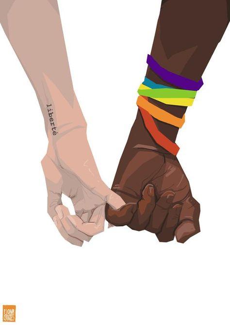 Pride hands - Digital Download Print