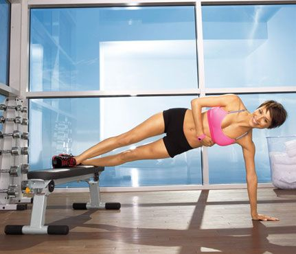 Slim In The Gym 8 Ways To Use A Weight Bench Workouts Self Com Gymgoers You Ll Never Aimlessly Wander The Weight Bench Workout Weight Benches Abs Workout