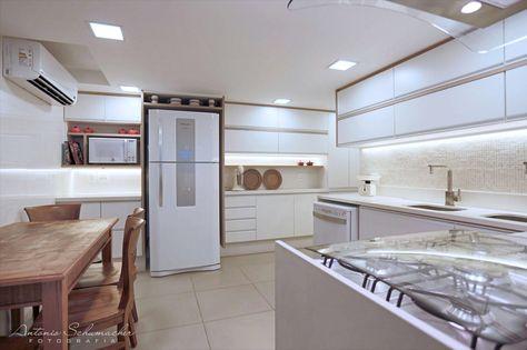 Cozinha Dellanno   projeto branco bege