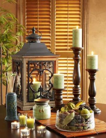 Invite relaxation with Pier 1 Citrus Cilantro Candles