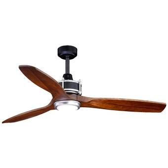 Minka Aire 52 Wave 3 Blade Propeller Ceiling Fan Reviews Wayfair In 2020 Ceiling Fan With Remote Led Ceiling Fan Ceiling Fan