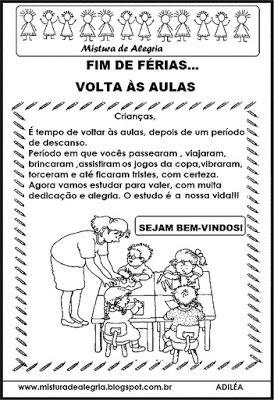 Diario De Uma Professora Novata Atividades Volta As Aulas Com