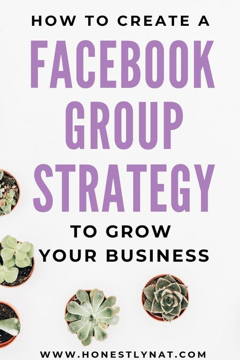 Using social media to grow your business?  Participating in Facebook Groups has been key to growing my online business organically.  But, like most things, it's best to go in with a strategy.  Here are some tips to creating a Facebook Group strategy to grow your business.  #facebookgroupstrategy #socialmedia #growyourbusiness