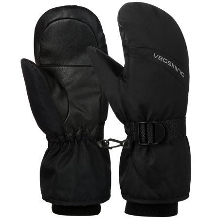 Men Winter Warm Sports Outdoor Waterproof Gloves Snow Ski Mittens