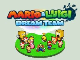 Mario And Luigi Dream Team 3ds Menu Pic Remake By Theguy07