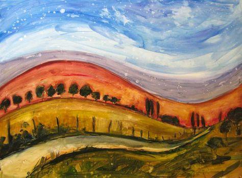 fine art by Patty Baker - landscape