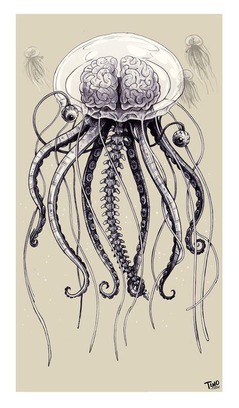 the kraken drawing sea monsters Vintage Nautical Tattoo, Vintage Nautical Decor, Nautical Prints, Tattoo Vintage, Nautical Flags, Logo Vintage, Nautical Design, Nautical Tattoos, Nautical Dress