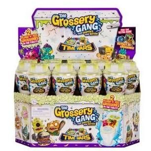 Grossery Gang Season 1 PACK Include 14 collector cards /& 1 Figure 5 Blind P...