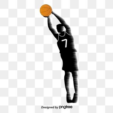 Creative Silhouette Of Basketball Players Creative Silhouette Action Png Transparent Clipart Image And Psd File For Free Download City Silhouette Graphic Design Background Templates Free Graphic Design