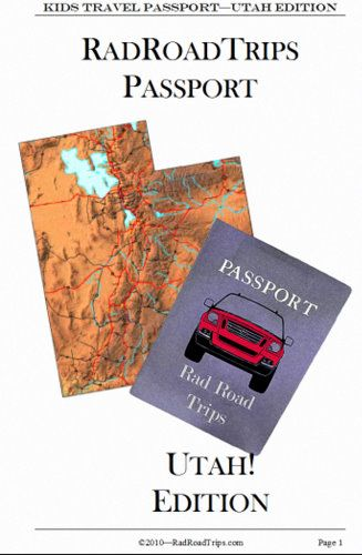 Utah! Kids Travel Passport Around the World Pinterest - free passport template for kids
