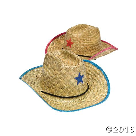 0ff7bee5de061 Adult Cowboy Hats with Star Assortment