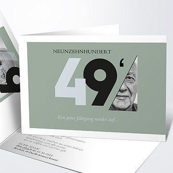 Einladungskarten 70 Geburtstag Selbst Gestalten