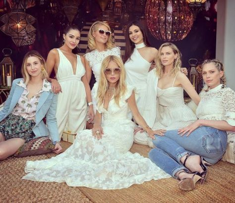 Paris Hilton, Rachel Zoe, And Friends - The Celeb Queens Of Coachella 2018 - Photos
